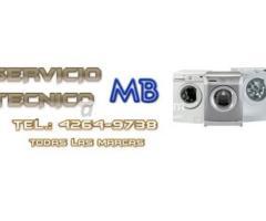 {• MB•} 4264-9738 Servicio técnico de lavarropas en temperley