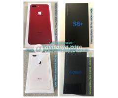 Apple iPhone 8 Plus, Samsung S8 Plus, iPhone 7 Plus
